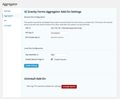 aggregator-settings